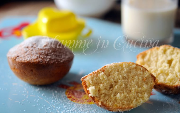 Tortine morbide al limone facili e veloci