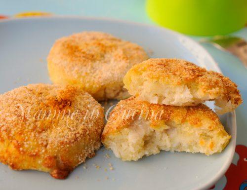 Medaglioni di patate e pesce ricetta facile