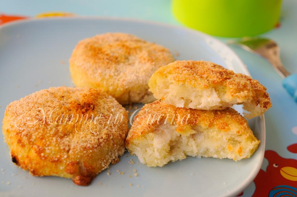 Medaglioni di patate e pesce ricetta facile mamme in cucina