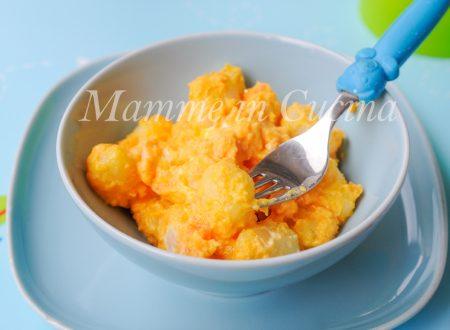 Gnocchi alle carote e philadelphia ricetta veloce