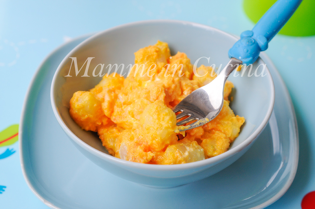 Gnocchi alle carote e philadelphia ricetta veloce mamme in cucina