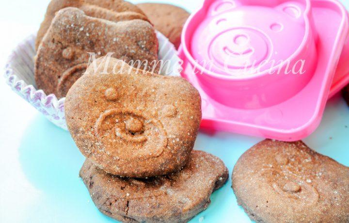 Biscotti al cacao senza burro ricetta facile e veloce