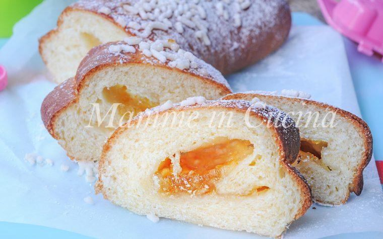 Pan brioche alla marmellata di arance ricetta facile