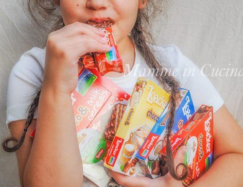 Loacker choco& prodotti per una sana merenda