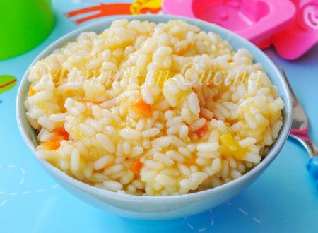 Riso con patate zucca e carote cremoso ricetta facile