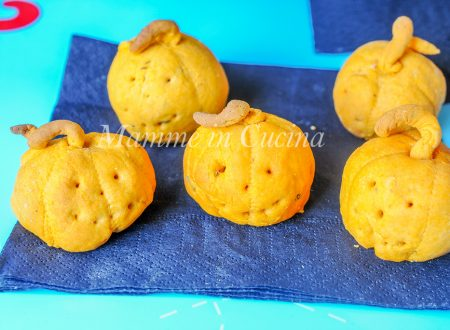 Zucche di halloween stuzzichino sfizioso facile e veloce