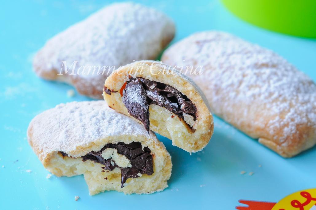 Biscotti ripieni al cioccolato ricetta facile e veloce mamme in cucina