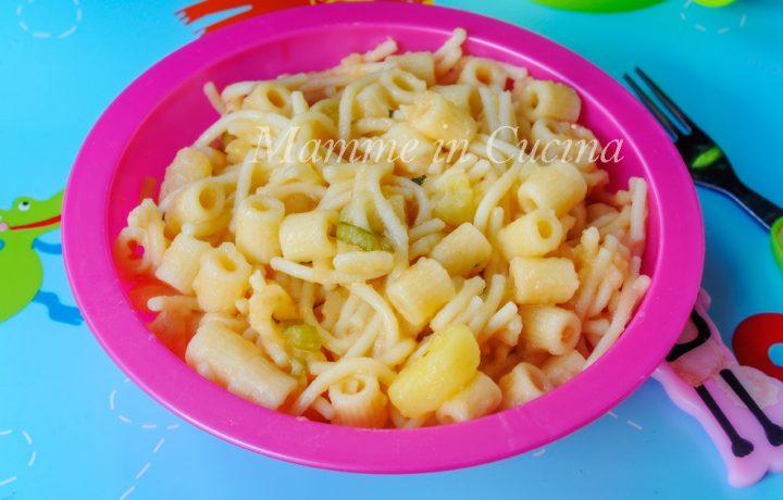 pasta e patate cremoso primo piatto facile e veloce