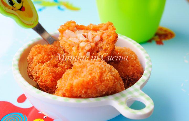 Polpette di riso al sugo ricetta facile