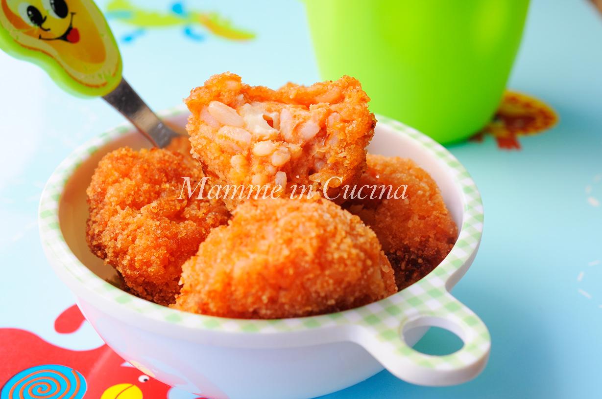 Polpette di riso al sugo ricetta facile primo piatto mamme in cucina