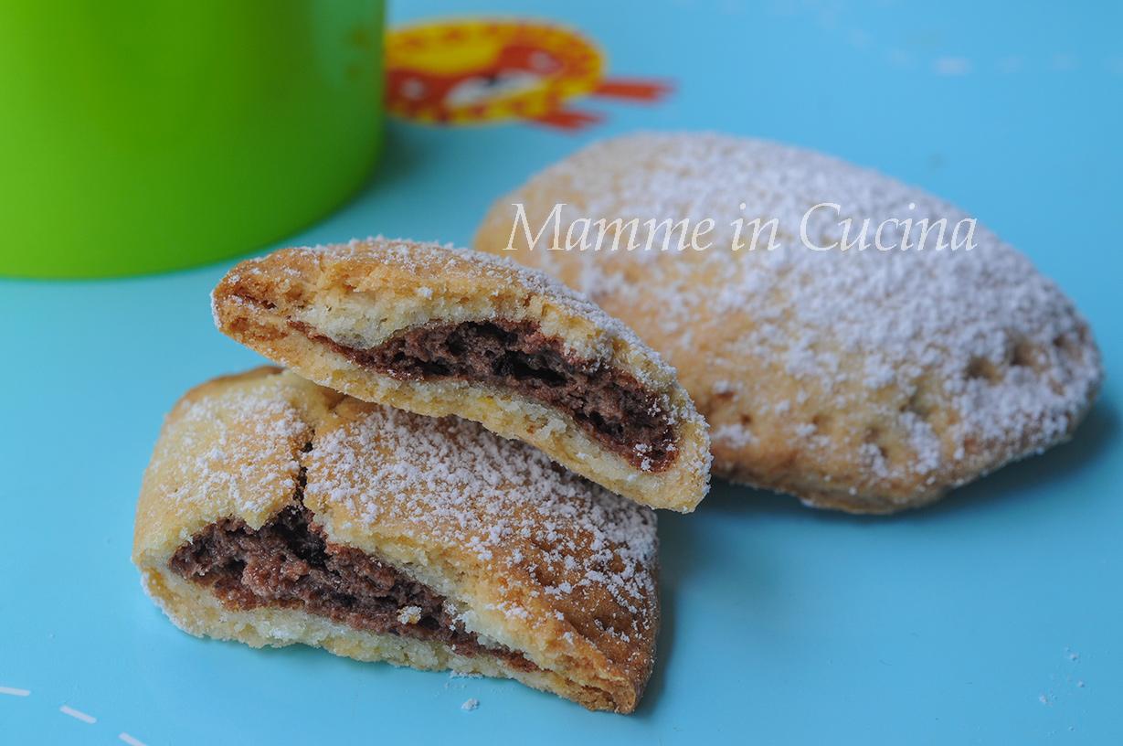 Ravioli dolci al cioccolato ricetta biscotti veloci mamme in cucina