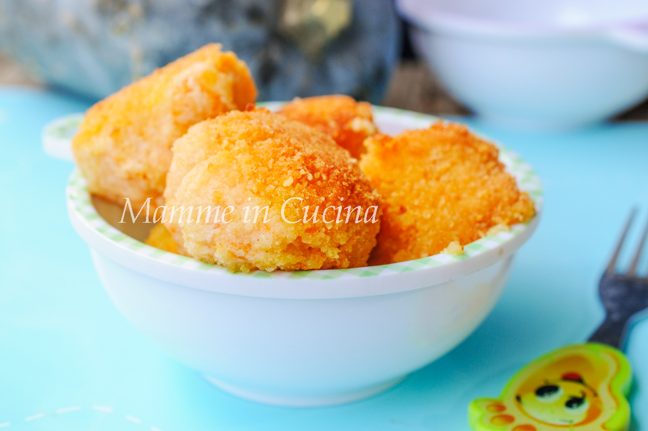 Polpette di ricotta e zucca ricetta veloce mamme in cucina