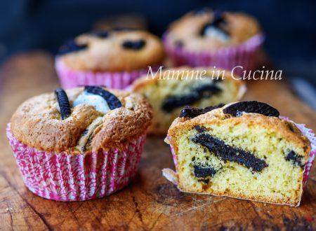 Muffin con oreo dolcetti veloci