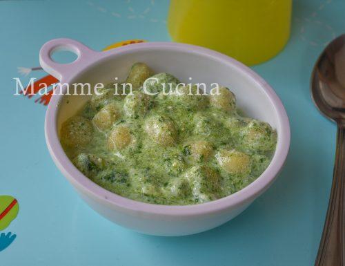 Gnocchi spinaci e ricotta cremosi