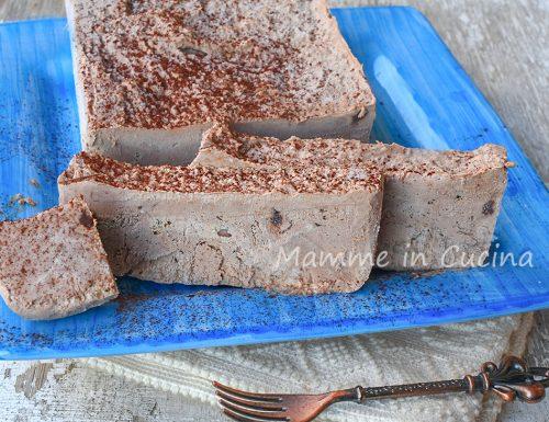 Mattonella fredda al cioccolato