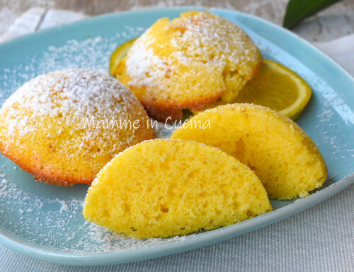 Tortine con arancia morbide