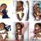 Parto record: 6 gemelli dopo 17 anni di tentativi