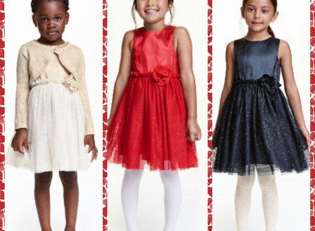 Bambini vestiti a festa – H&M brand low cost