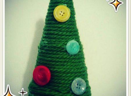 Creare coi bambini – albero di lana