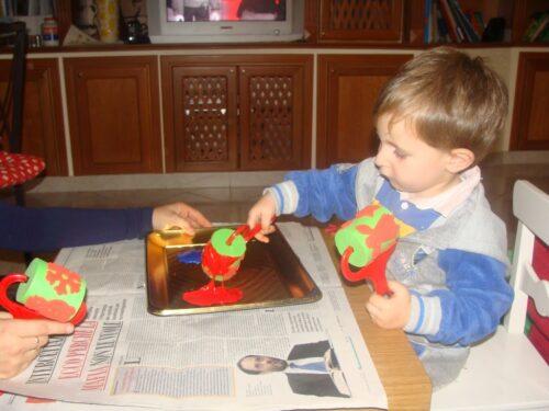 le carte di natale riciclate da fare coi bimbi