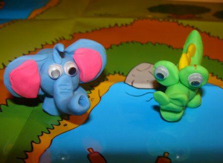 Tutorial: come fare un elefantino e un coccodrillo con il pongo