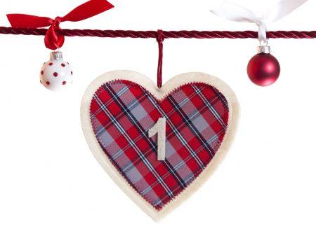Attività Calendario dell'avvento 1 dicembre: timbri di Natale