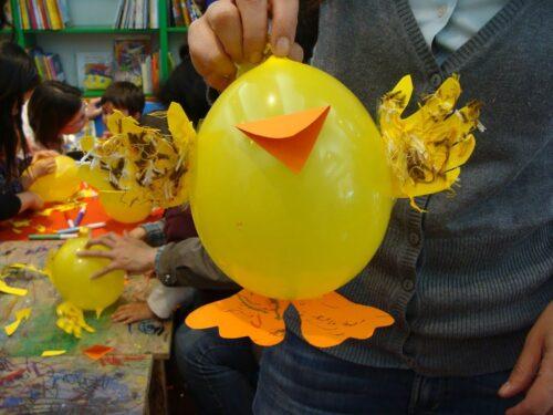 Lavoretto di Pasqua per bimbi piccoli facile facile!