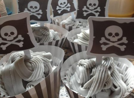 Cup cakes dei pirati!