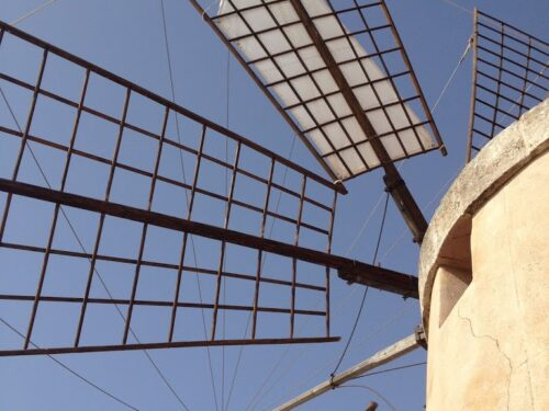 I mulini a vento delle saline di Marsala