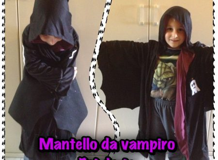 Come fare un mantello da vampiro per Halloween fai da te (foto tutorial)