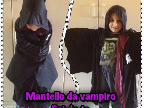 Come fare un mantello da vampiro per Halloween fai da te (foto tutorial)