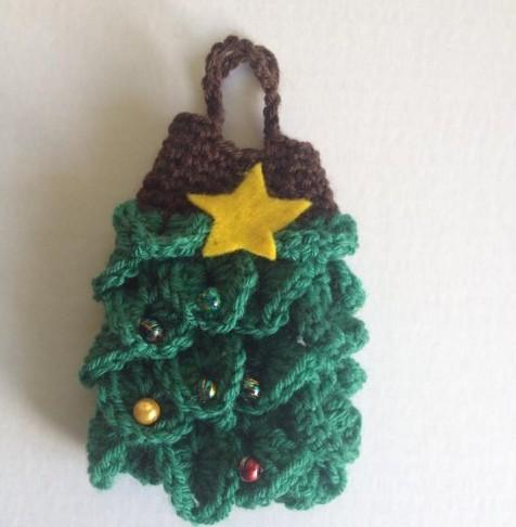 Albero Natale Uncinetto Punto Coccodrillo Yummymummy
