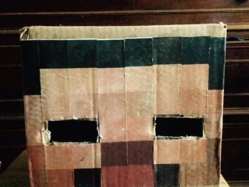 Come fare la maschera di Steve di minecraft | foto