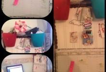 Pannello portaoggetti da parete con materiali di riciclo: ecco come farlo
