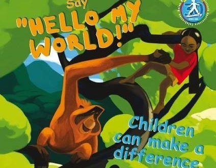 Hello my world! La campagna di sensibilizzazione in favore degli oranghi