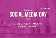 Mashable social media day Italy: l'evento e lo sconto del 50%