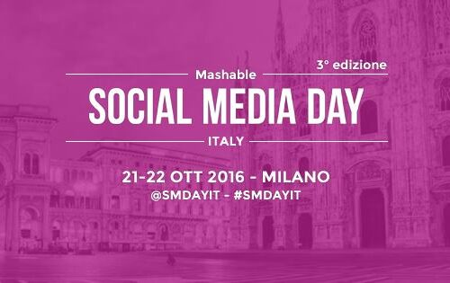 Mashable social media day Italy: l'evento e lo sconto del 50%